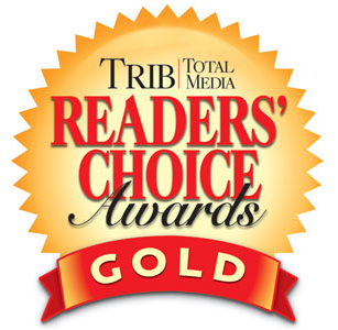 2015 Trib Total Media Readers Choice Awards Gold Winner